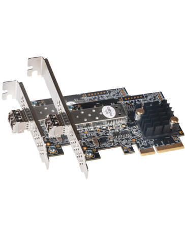 Solo10G SFP+ 10 Gigabit Ethernet 1-Port PCIe Card - No Trouble®